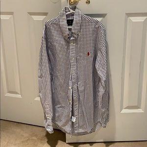 Ralph Lauren button down shirt, slim fit, xs